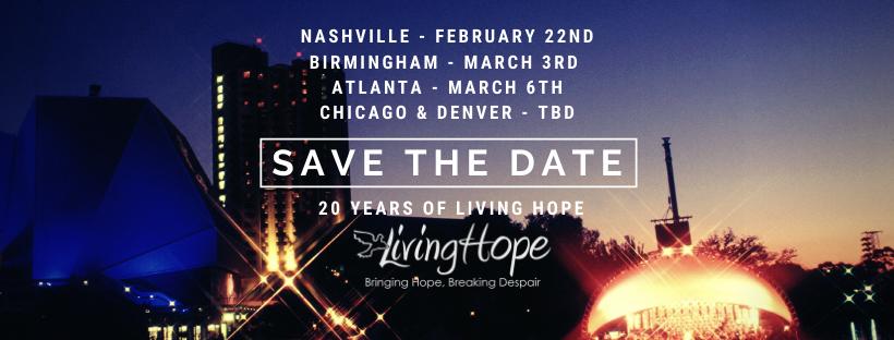 Living Hope Turns 20 in 2020!